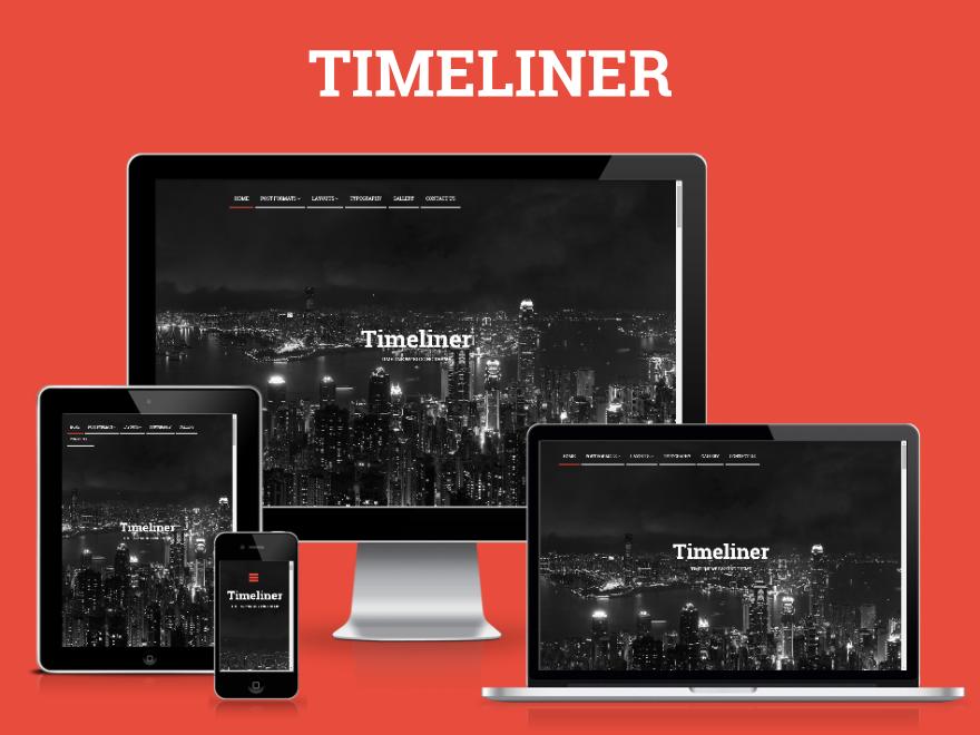 Timeliner | Responsive Timeline Blogging WP Theme