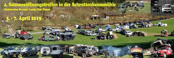 4. Saisoneröffnungstreffen Globetrotter Bavaria-LCP