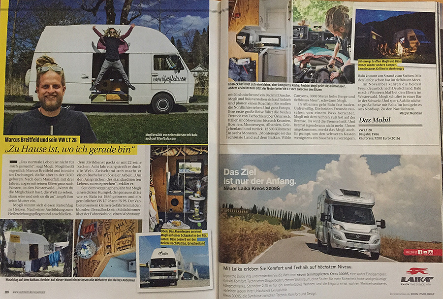 Auto Bild Reisemobil | 04/2017